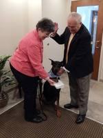 Mayor Kelaher swearing in Bella Pet Mayor 2014